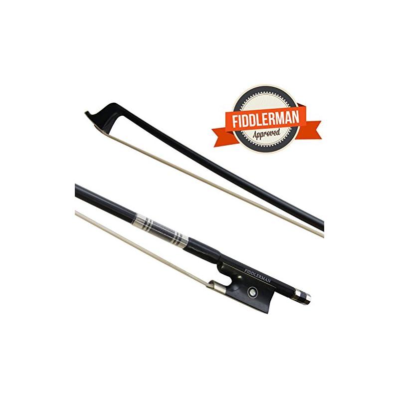 Fiddlerman Carbon Fiber Violin Bow 3/4