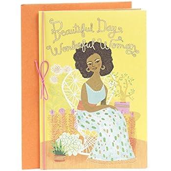 Amazon hallmark mahogany birthday greeting card man hallmark mahogany birthday greeting card for mother love peace joy blessed bookmarktalkfo Gallery