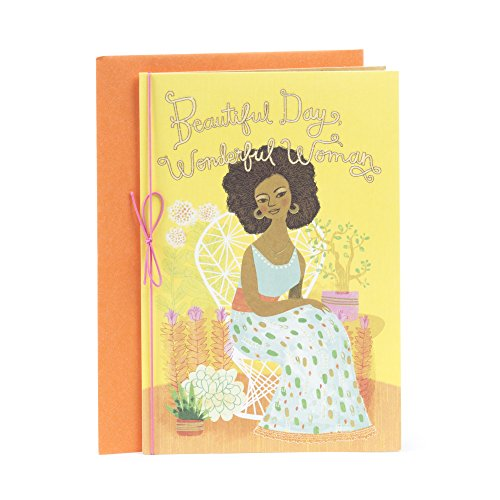 Hallmark Mahogany Birthday Greeting Card for Mother (Love, Peace, Joy, Blessed)