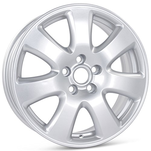 New 17'' x 7'' Replacement Wheel for Jaguar X-Type 2004-2008 Cayman Rim 59766 by Wheelership