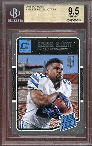 2016-donruss-368-ezekiel-elliott-dallas-cowboys-rookie-card-bgs-95-graded-card