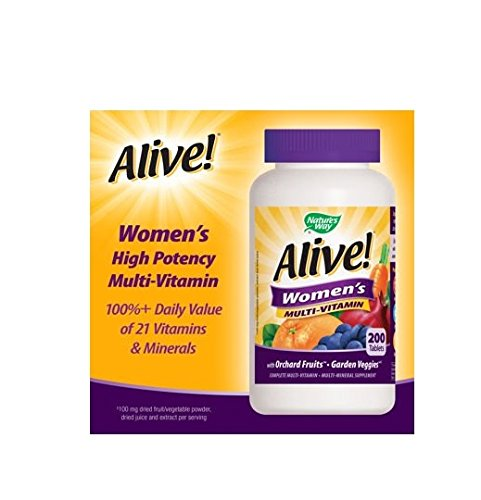 Alive! Women's Multi-Vitamin, 200 Tablets by Alive