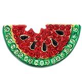 Watermelon Crystal Pin Brooch