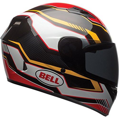 Bell Torque Adult Qualifier Street Motorcycle Helmet - Black/Gold / X-Small