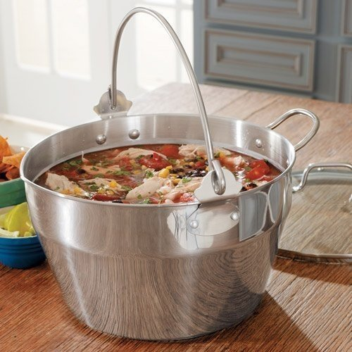 CHEFS Maslin Pan with Lid, 10 Quart by Chefs