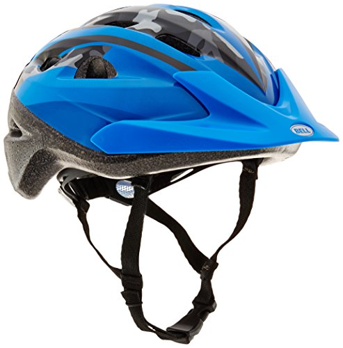 True Fit Camo (Bell 7063277 Child Rally Helmet, Blue Camo)