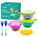 MICHEF Stay Put Suction Bowl, Spill Proof, Baby