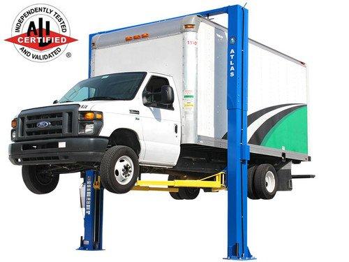 Atlas Apex 12 ALI Certified Overhead 12, 000 lb. Capacity Adjustable Height 2 Post Vehicle Lift Atlas Equipment ATTD-APEX12