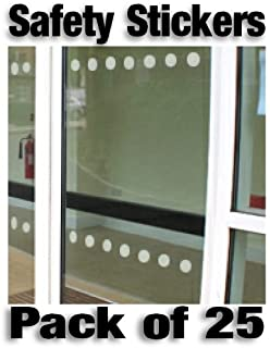 72 window pre spaced patterns glass manifestation safety stickers easytime uk tm etch effect safety stickers decals for glass subtle etch planetlyrics Image collections