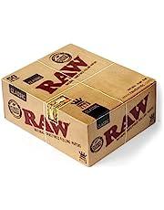 Raw Klassiek King Size papieren met 50 verpakkingen, bruin