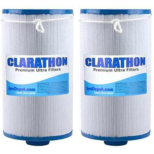 2 Replacement Filters for Lifesmart, Freeflow, AquaTerra, Hydromaster, Grandmaster, Simplicty, Bermuda Spas - 50SF [2-PACK]