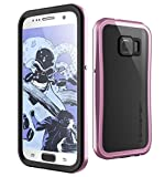 Galaxy S7 Waterproof Case, Ghostek Atomic 2.0 Series for Samsung Galaxy S7 (Pink)