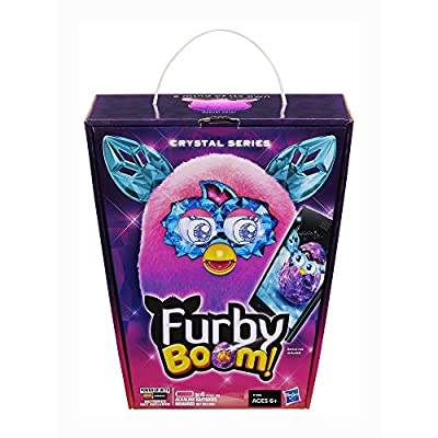 Furby Boom Crystal Series Furby (Pink/Purple): Toys & Games