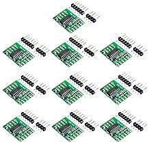 FICBOX 10 Pack HX711 Weighing Sensor Dual-Channel 24 Bit Precision A/D Module Pressure Sensor