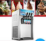 Ice Cream Machine Commercial 1200W Soft Serve Ice