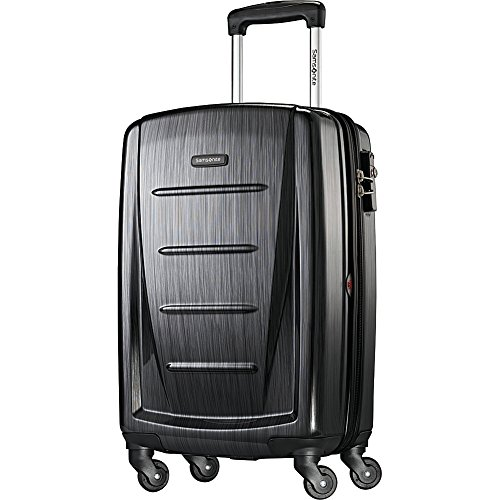 Samsonite Winfield 2 Hardside Luggage, Brushed Anthracite, Carry-On