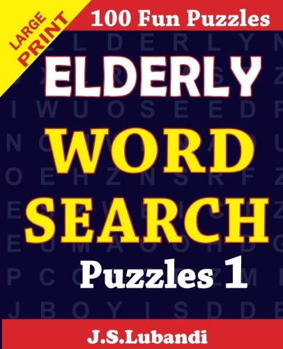 Elderly word search puzzles 1 product image
