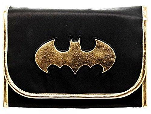 DC Comics BATMAN Logo Hanging Cosmetic Travel BAG ()