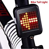 Cozysmart USB Rechargeable Bike Tail Light, Smart
