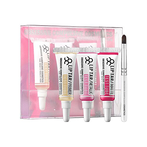 Obsessive Compulsive Cosmetics Cosmetic Lip Tar: Test Tubes x 3 PINK PRISM by OCC