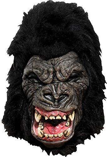 Ghoulish Men's Horror Mighty Gorilla King Evil APE Latex Mask Halloween Accessory -