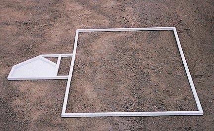 Softball Batter\'s Box Template - Router Templates - Amazon.com