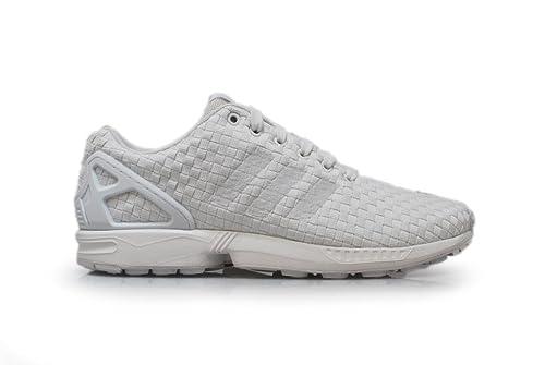 new concept b0a0b d4a56 Adidas Originals ZX Flux Woven Shoes Men's Sports Casual Running Trainer