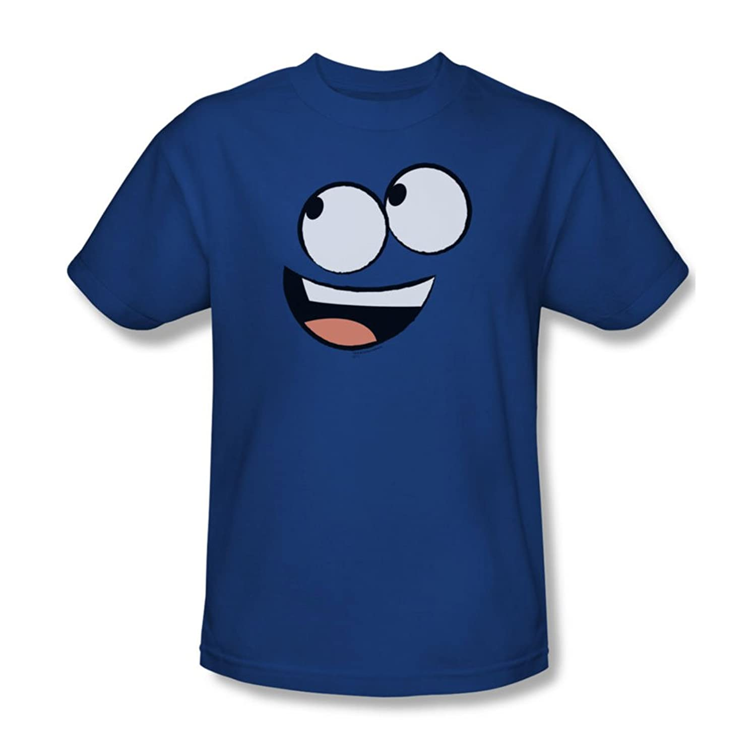Foster'S - Mens Blue Face T-Shirt In Royal