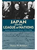 Japan and the League of Nations: Empire and World Order, 1914–1938