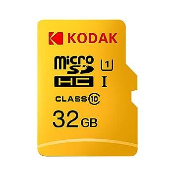 Grborn Kodak Tarjeta Micro SD Tarjeta de Memoria 32GB TF ...