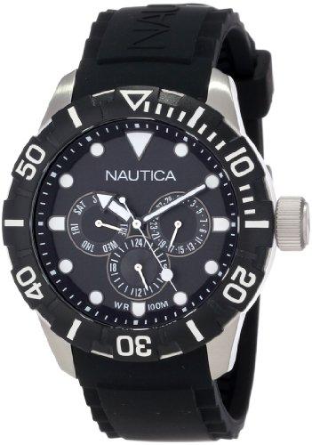 Nautica Unisex N13643G NSR 101 Multi- South Beach Classic Analog with Enamel Bezel Watch