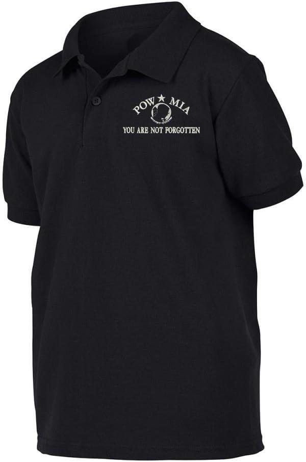 Military POW MIA Polo Shirt