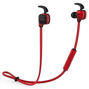 XC Auriculares Bluetooth, Auriculares inalámbricos inalámbricos a Prueba de Sudor y a Prueba de Humedad WiFi, compatibles Inteligentes con iOS, ...