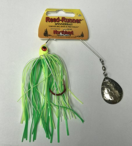 Northland Tackle RRS4C-1015 Reed-Runner Classic Sine 6/Bag Bait,