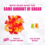 SmartSweets Fruity Gummy Bears, Candy with Low