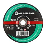 Cutting Disc, Concrete/Masonry/Stone Freehand Cut-off wheel - Depressed Center - 7'' x 1/8'' x 7/8'' - T42 - (5 PACK)