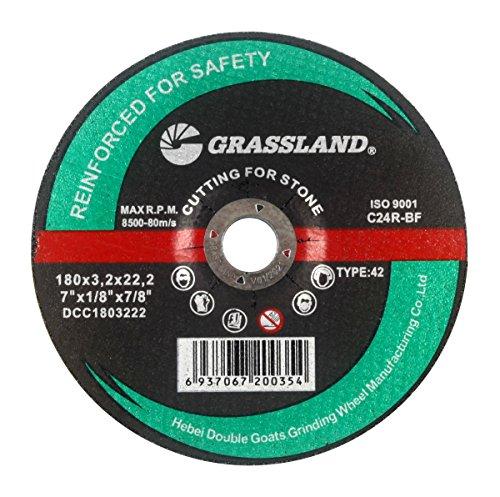 (Cutting Disc, Concrete/Masonry/Stone Freehand Cut-off wheel - Depressed Center - 7