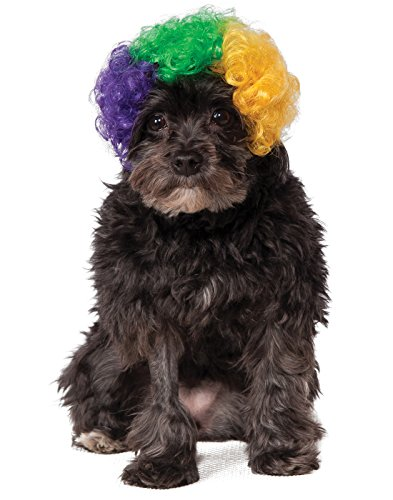 Rubie's Mardi Gras Afro Pet Wig, Medium/Large,...