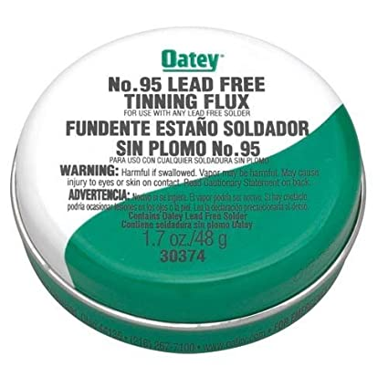 Amazon.com: No. 95 Tinning Flux - Lead Free - Carded by Oatey: Home ...