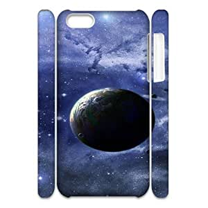 3D Space 10 IPhone 5C Case, Protector Case Iphone 5c Case for Boys Okaycosama {White}