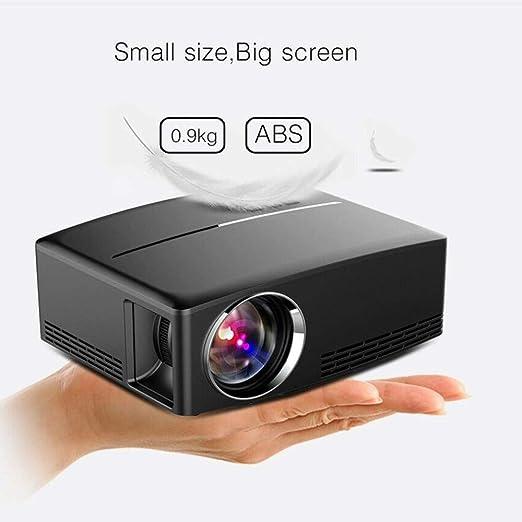 Portátil de proyector de Cine en casa Mini LED HD 1080P Apoyo 4K ...