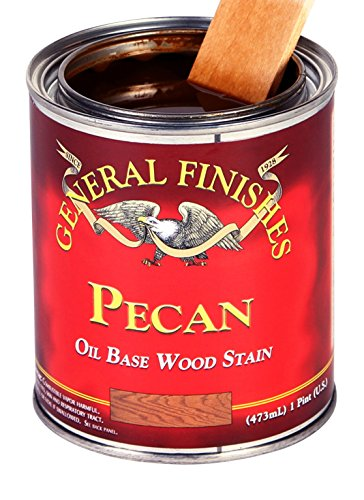 General Finishes PEQT Oil Based Penetrating Wood Stain, 1, 1 Quart, Pecan ()