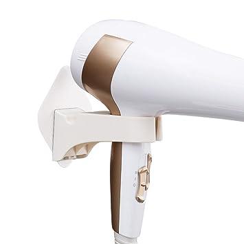 Hair dryer rack Soportes para secadores de Pelo Secador de Pelo sin Golpe Estante Lechón Soporte de Manguera de Pared Baño Instalación de plástico ...