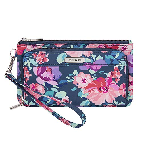 Travelon: Phone Clutch Wallet - Blossom Floral