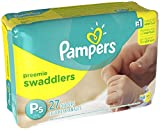 Health & Personal Care : Pampers Swaddlers Diapers - Preemie - 27 ct