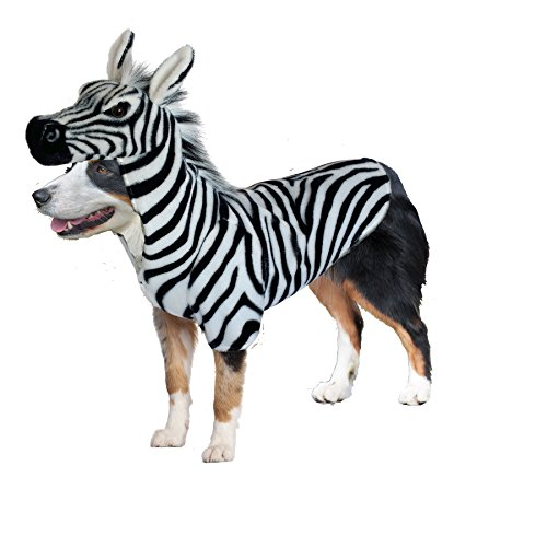 Amazing Pet Products Doggy Wannabe Comfy Creature Coats Costume Zebra (Dog Zebra Costume)