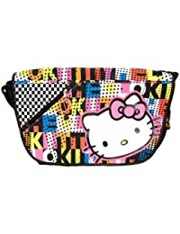 "Hello kitty School Messenger Bag (Size 18"", Rainbow)"