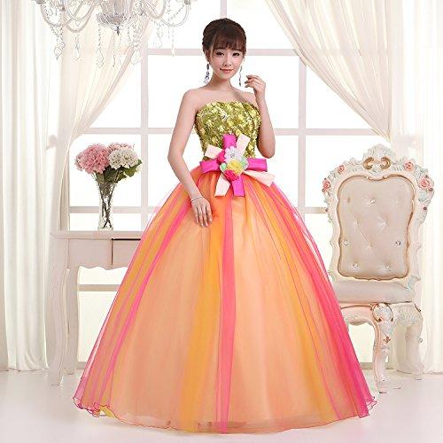 KA Beauty - Vestido - corte imperio - para mujer Style1