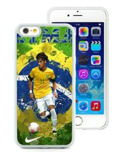 Hot Sale iPhone 6S Case,Neymar 68 White iPone 6/6S 4.7 inches Screen TPU Cover Case Fashion and Popular Design