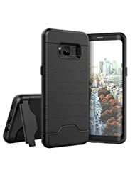 Raydem Samsung Galaxy S8 Case, Shockproof with Card Slot Hold...